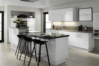 Zest Gloss White Kitchens