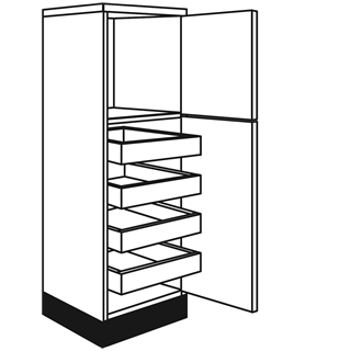01 Type 4 Pullout Larder