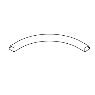 Internal Curved Rail
