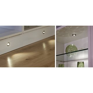 Sirius 32mm round plinth/cabinet 4 light kit