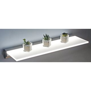 Diffused floating shelf