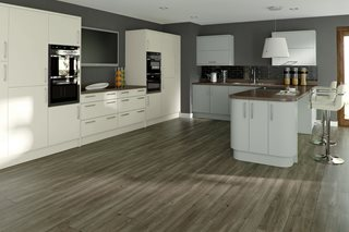 Opaco Painted Plain Slab Kitchens