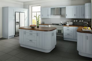 Shaker Wood Painted Kitchens