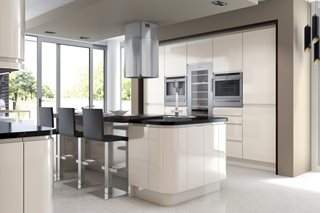 Fusion Gloss J Pull Ivory Kitchens