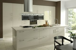 Zest Gloss Ivory Kitchen