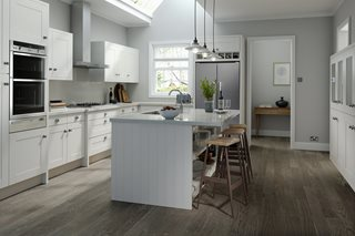 Ivory Prelude Shaker Style Kitchen