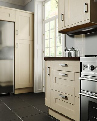 Shaker Painted Oyster Kitchen