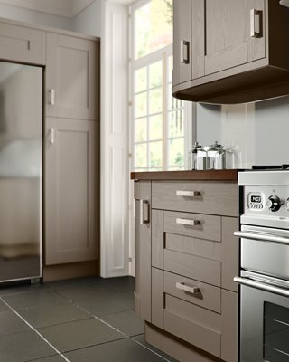 Shaker Painted Hickory Kitchen